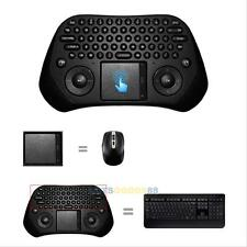 2.4G Wireless Air Keyboard Mouse Qwerty Remote Touchpad For KODI Android TV BOX