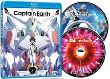 Captain Earth . Collection 1 . Episodes 1-13 . Anime . 2 Blu-ray . NEU . OVP