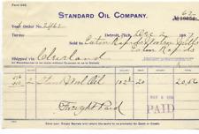 1897-INVOICE-STANDARD OIL COMPANY-DETROIT, MICHIGAN