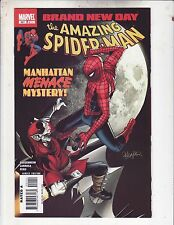 Amazing Spider-Man #551 Vf/Nm 2008 Menace Brand New Day Free Shipping