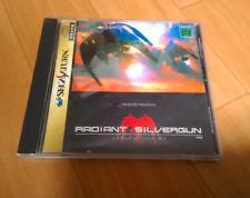 Rare Sega Saturn Radiant Silvergun 1998 Japan SS Game Soft Disc Manual No obi