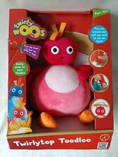 Twirly Woos Twirlytop Toodloo Plush Soft Toy Pull Cord Action Twirlywoos