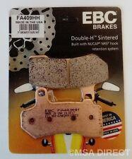 Harley Davidson Electra Glide (08 to 17) EBC Sintered REAR Brake Pads (FA409HH)
