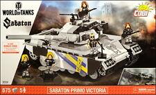 COBI Sabaton Primo Victoria (3034) - 675 elem. - World of Tanks - mod. Centurion