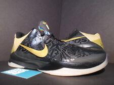 2010 Nike Zoom KOBE V 5 BIG STAGE AWAY HOME BLACK GOLD WHITE 386429-008 NEW 10.5
