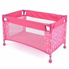 Toyrific Snuggles Deluxe Dolls Travel Cot for Children 43 Cm