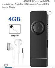 4GB MP3 Player with USB Flash Drive Portable HiFi Lossless Sound MP3