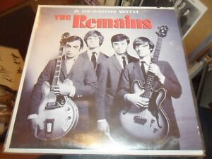 THE REMAINS-A SESSION WITH THE REMAINS VINYL ALBUM GARAGE ROCK