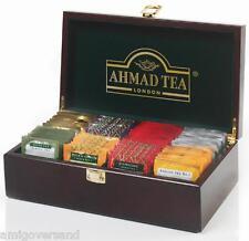 Ahmad TEA-Tea Keeper (Teebox-präsentationsbox) inclusi 8 x 10 bustina del tè