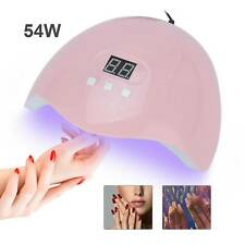 54W LED UV Nail Polish Dryer Lamp Gel Acrylic Curing Light Professional Spa Tool