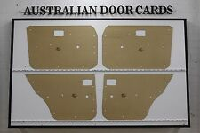 Mazda RX4, 929. 1973-1977 Sedan, Wagon Door Cards. Blank Trim Panels