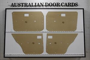 Mazda RX4, 929. 1973-1977 Sedan, Wagon Door Cards. Blank Trim Panels