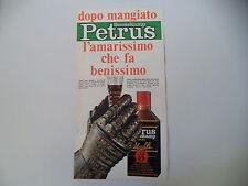 advertising Pubblicità 1968 AMARO PETRUS BOONEKAMP