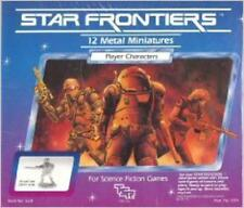 Player Characters Star Frontiers Metal Miniatures TSR NEW SEALED