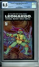 LEONARDO, TEENAGE MUTANT NINJA TURTLE 1 CGC 8.5 WHITE PAGES MIRAGE STUDIOS 1986