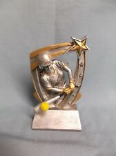 glossy star resin softball trophy award RST series