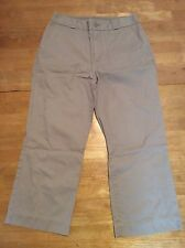 GAP - Classic Tan / Khaki Capri / Cropped 100% Cotton PANTS size 4