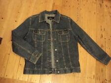 sportscraft classic cut   jeans jacket  denim 10 distressed finish   stretch