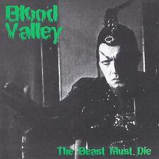 Blood Valley 'The Beast Must Die' CD (2004) Gothic Rock  Metal