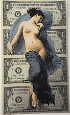 Stencil King - PENNY Maia Autumnus SIgned Original 14 lyr. Stencil & Spray Paint