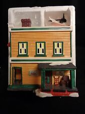 Department 56 Snow Village Al's TV Shop 54232