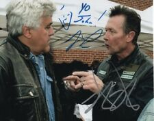 JAY LENO & ROBERT PATRICK Autographed Signed Photograph - To John