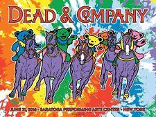Dead & Company Poster Spac Saratoga Springs, Ny 6/21/16