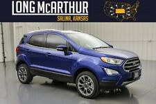 2020 Ford EcoSport Titanium 4Wd Moonroof B&O Audio Msrp $28930