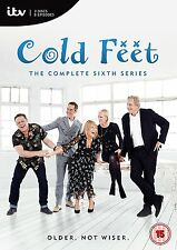 COLD FEET James Nesbitt Hermione Norris Series 6 (2016) Region 2 PAL DVDs only!