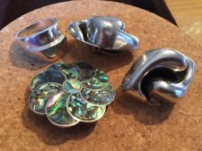 All Sterling Silver Vintage Estate Mexico Lot