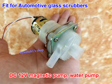 DC 12V Magnetic Pump Plumbing Water Pump 365 DC Motor Flow 60mL/s for Glass Wash
