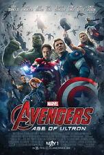 "113 Age of Ultron - Iron Man Captain America Hulk Movie 24""x36"" Poster"