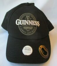 GUINNESS EXTRA STOUT ADJUSTABLE CAP HAT WITH BOTTLE OPENER - NEW