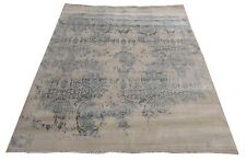 """Hand Knotted Wool And Viscose Rug Erase Pattern 9'9"""" X 7'11"""""""