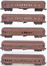 Five Lionel postwar O gauge 2625 & 2628 Madison cars for parts or res... Lot 406