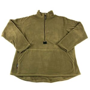 Polartec 100 Fleece Pullover, USMC Coyote Brown, US Marines Cold Weather, LARGE