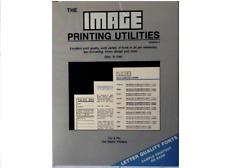 The Image Printing Utilities for 9 Pin Dot Matrix Printers