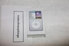 Apple iPod Classic Silver 160 GB 7th generazione *** NUOVO E SIGILLATO *** GRATIS P&p!