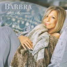 Love is the Answer; Barbra Streisand 2009 CD, Pop Vocals, Diana Krall, Sony Exce