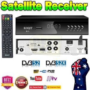 Koquit Satellite Receiver Decoder PVR SAT HD TV Box 240V FTA DVB-S2