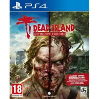 Dead Island Definitive Edition Collection PS4 Game Brand New
