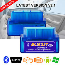 ELM327 MINI BLUETOOTH OBD2 ODB2 INTERFACE DIAGNOSTIC SCAN Autos FOR  ANDROID