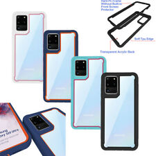 For Samsung Galaxy S20 Ultra Clear Shockproof Hybrid Bumper Phone Case Cover