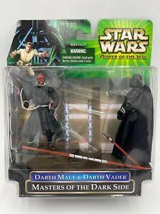 Star Wars Power of the Jedi Darth Maul & Darth Vader Masters of the Dark Side