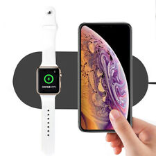 10W Fast Charging Qi Wireless Charger Pad For iPhone XS XS Max XR Apple Watch 4