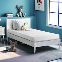 """6"""" Twin Size Mattress Memory Foam Bed Foam Comfortable Mattress Charcoal Gel"""