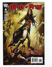 Birds of Prey Vol 2 # 6 Regular Cover NM DC Signed no COA