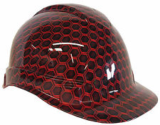 Hard Hat Red Hex w/ Free BRB Customs T-Shirt