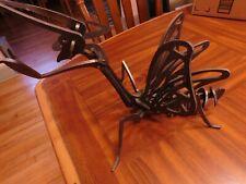 "New listing Iron/Metal Yard Art Garden Decor Praying Mantis/Dragon Fly Figurine 8+"" tall"