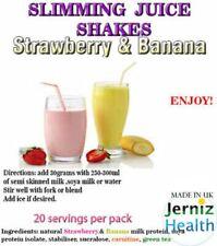 Perdere 15LBS Plus in 5 giorni-COMPLETO Slim Piano dieta succo di frutta frullati ALLA FRAGOLA/Banana